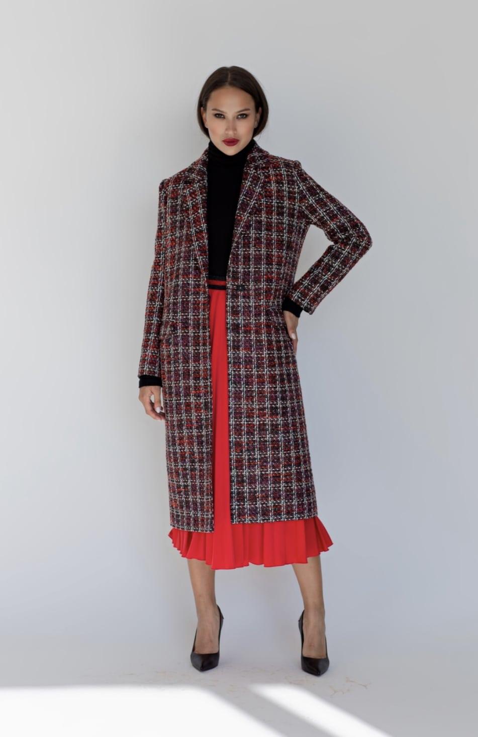 Coat RedBlack