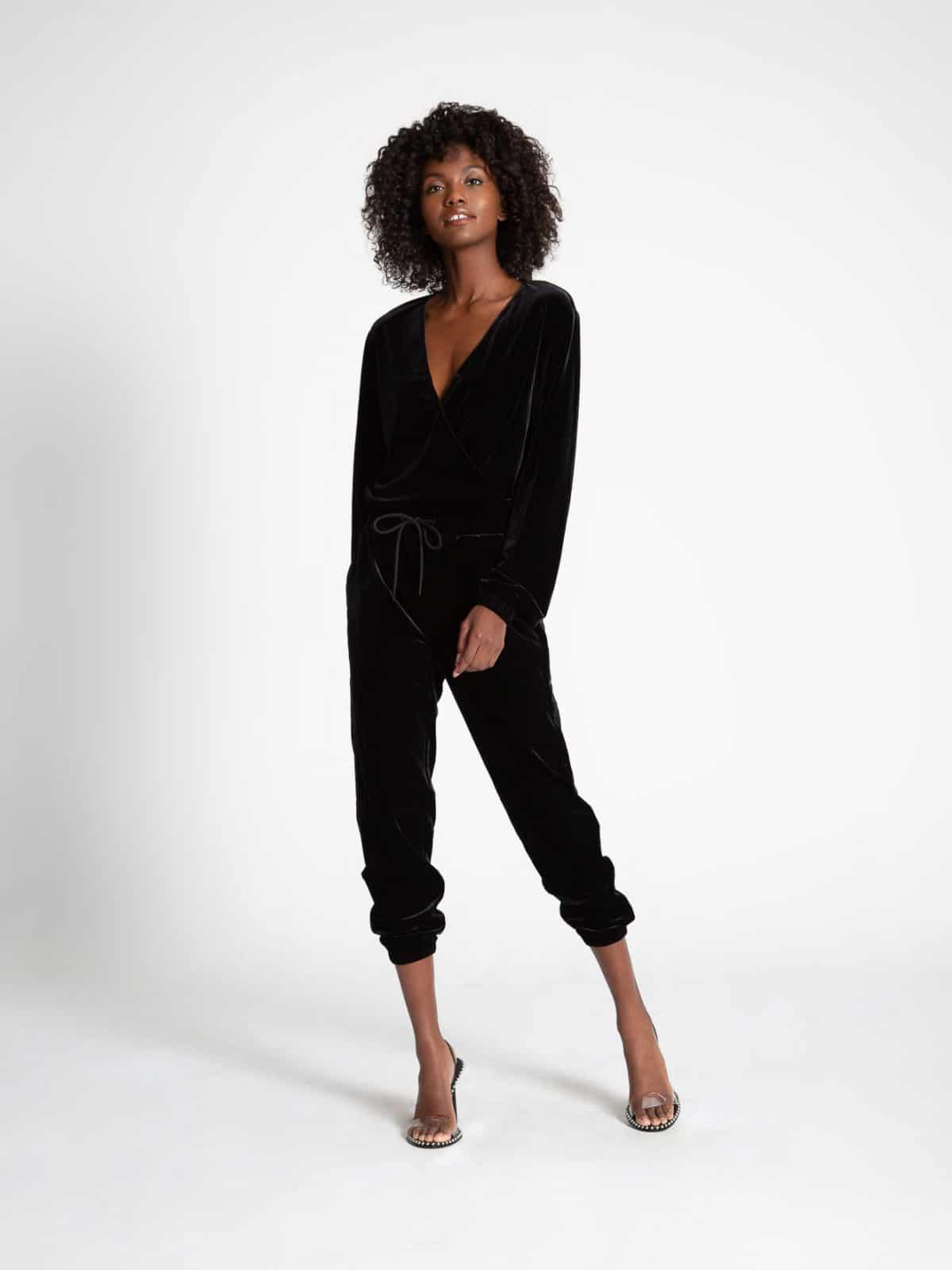Viper Jumpsuit Black Cat