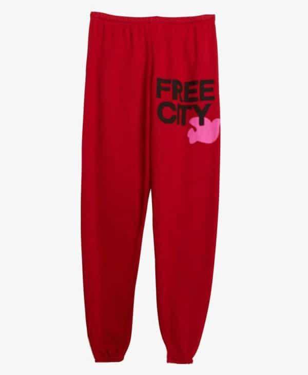 FREECITYlarge Sweatpant - Artyard Red