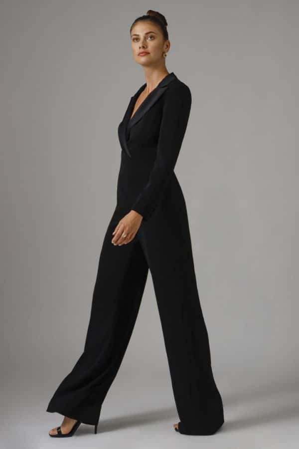 Rolland Black Jumpsuit
