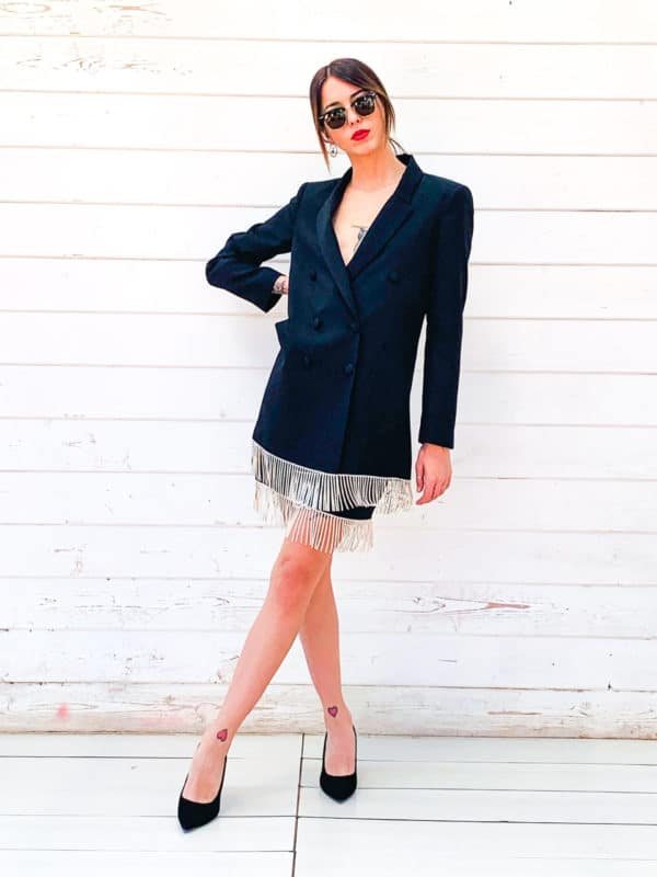 Black Blazer Dress