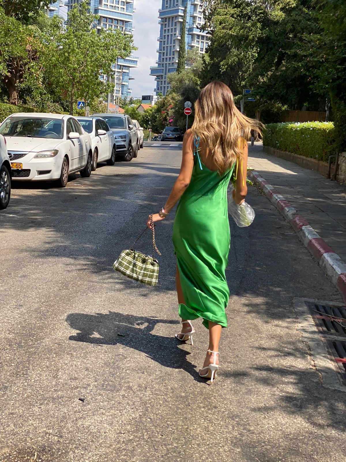 Tie Strap LS Dress Ivy