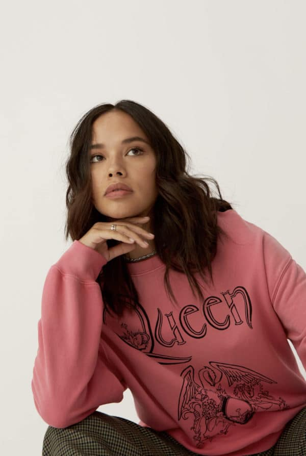 Classic Queen Crest Sweatshirt