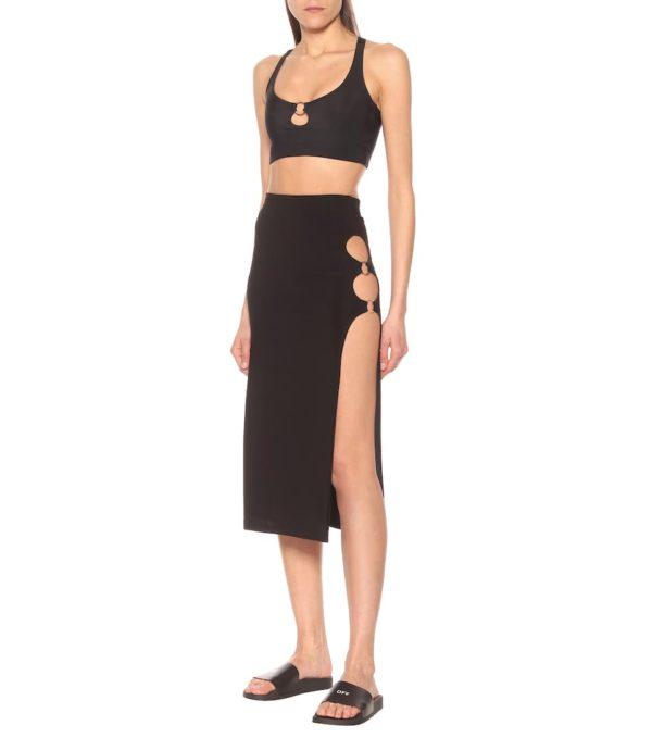 Ring Slit Skirt