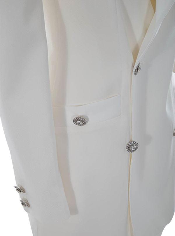 Double Blazer Mini Dress