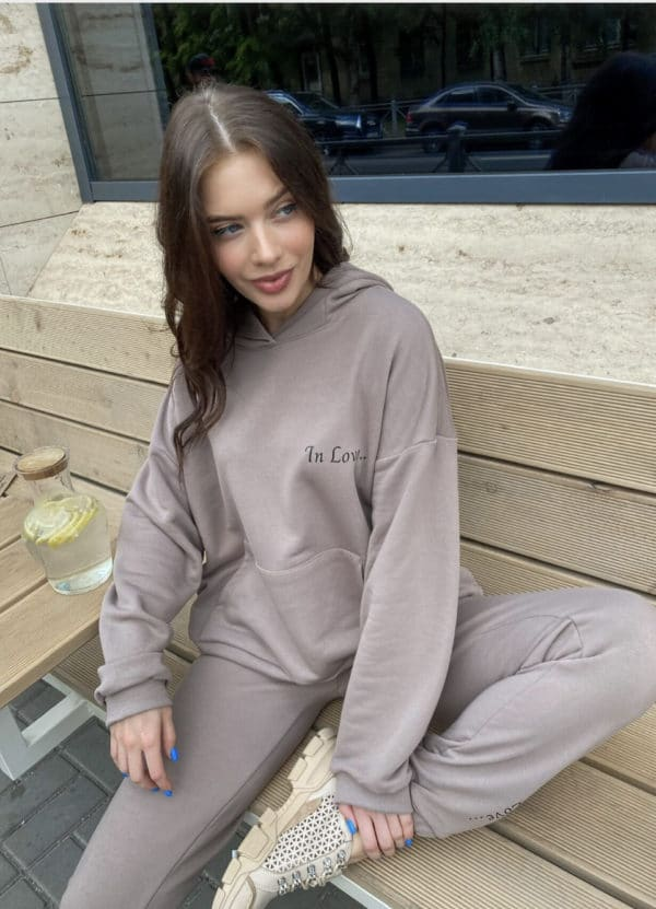 """Cocoa track suit """"In love"""""""