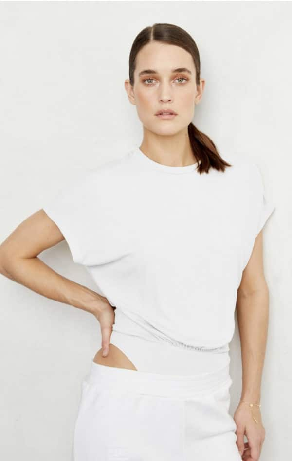 Tellier Bodysuit White