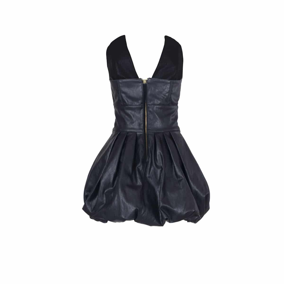 The Bow Leather Dress