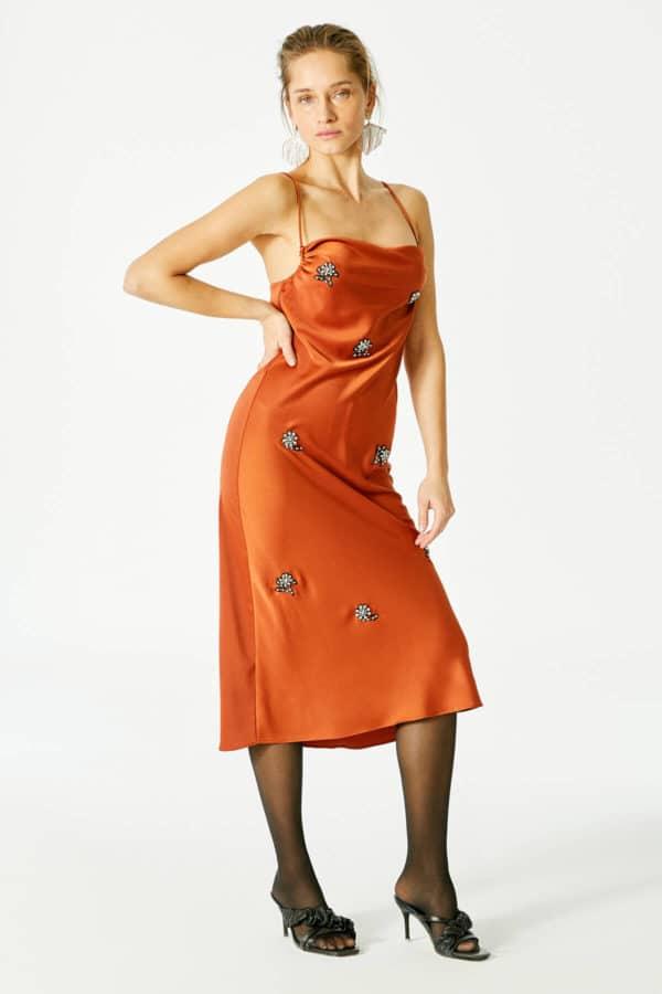 Shira Dress – Brown