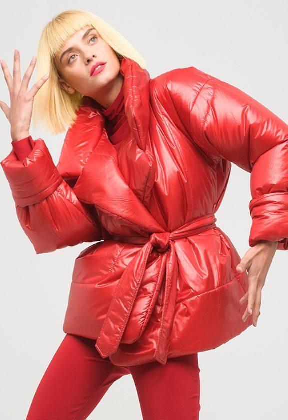 Sleeping Bag Jacket Red